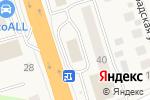 Схема проезда до компании McDonald`s в Октябрьском