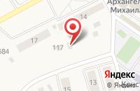 Схема проезда до компании Центральный в Сосновке
