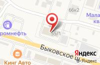 Схема проезда до компании Кафе-пекарня в Малаховке