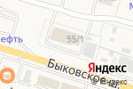 Схема проезда до компании М-Квадрат в Малаховке