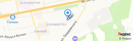 Tesla на карте Балашихи