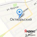 Октябрьская сельская библиотека на карте Киреевска