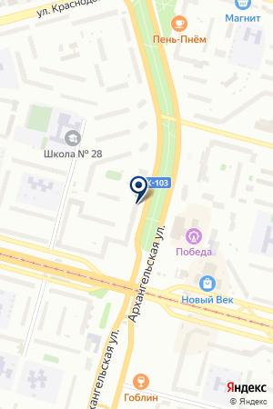 АГЕНТСТВО НЕДВИЖИМОСТИ КОМПРОМИСС на карте Череповца