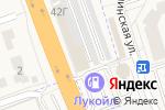 Схема проезда до компании АвтоГласс в Октябрьском
