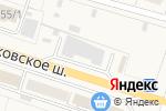 Схема проезда до компании Народный сервис в Малаховке