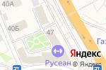 Схема проезда до компании Раменский деликатес в Октябрьском