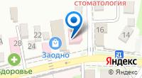 Компания ОПТРика на карте