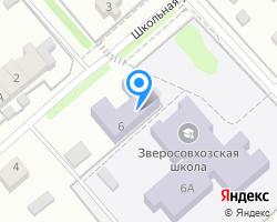 Схема местоположения почтового отделения 141214
