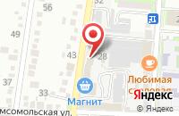 Схема проезда до компании Крымский хлебзавод в Крымске