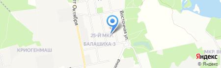 ОблСтройПроект на карте Балашихи
