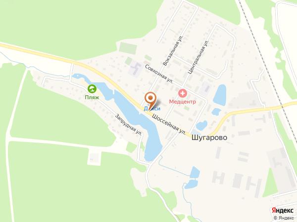 Остановка Шугарово - 1 (Московская область)