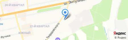 Доктор Боголюбов на карте Балашихи