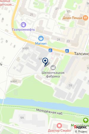 АВТОТРАНСПОРТНОЕ ПРЕДПРИЯТИЕ СНЕЖКО на карте Щелково