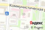 Схема проезда до компании Фаворит в Крымске