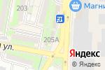 Схема проезда до компании Рыбная лавка в Крымске