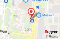 Схема проезда до компании Доктор в Крымске