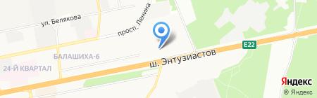 ГРАНТ-Диана на карте Балашихи
