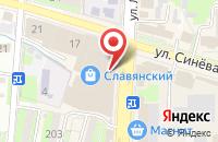 Схема проезда до компании Fashion Brands в Крымске