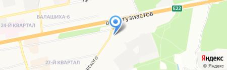 СтройДвор на карте Балашихи