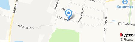 Ольгино Парк на карте Балашихи
