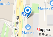 Крымский на карте