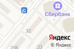 Схема проезда до компании Продуктовый магазин в Островцах
