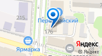 Компания ОргТехСервис на карте