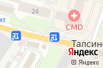 Схема проезда до компании Продуктовый магазин в Щёлково