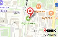 Схема проезда до компании 1С: Бухобслуживание в Крымске