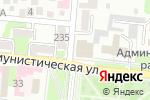 Схема проезда до компании Ухтышка в Крымске
