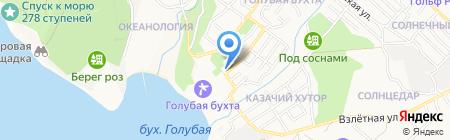 Торгово-сервисная компания на карте Геленджика