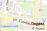 Схема проезда до компании Астор в Крымске