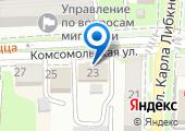 Бюро медико-социальной экспертизы №31 по Краснодарскому краю на карте