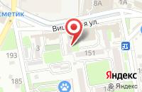 Схема проезда до компании Партнёр Авто в Крымске