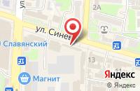 Схема проезда до компании МТС в Крымске