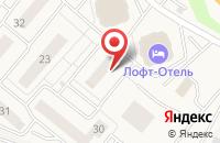 Схема проезда до компании ПУЖКХ Островецкое плюс в Островцах