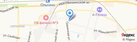 Граничная-27 на карте Балашихи
