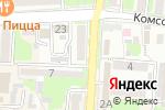 Схема проезда до компании Винный погребок в Крымске