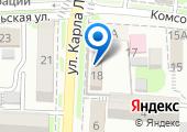 Отдел Военного комиссариата Крымского района на карте