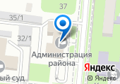 Крымская территориальная избирательная комиссия на карте