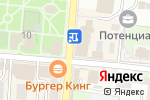 Схема проезда до компании Азбука вкуса в Крымске