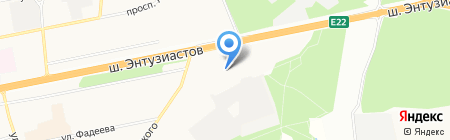 МИР на карте Балашихи