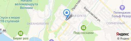 Почтовое отделение №7 на карте Геленджика