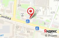 Схема проезда до компании Экона в Крымске