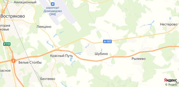 Пестово на карте