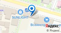 Компания Браво на карте