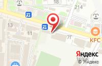 Схема проезда до компании Tele2 в Крымске