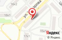 Схема проезда до компании Мастер в Щелково