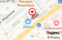 Схема проезда до компании Беллецца в Красково