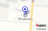 Схема проезда до компании ТФ СТРОМ в Хотьково